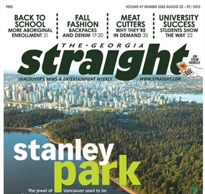 CELEBRATE! STANLEY PARK 125 MAKES THE FRONT PAGE!