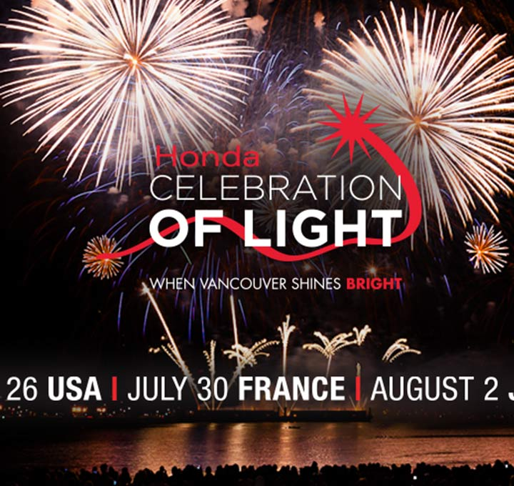 VANCOUVER SHINES BRIGHT ON 25TH ANNIVERSARY OF THE HONDA CELEBRATION OF LIGHT
